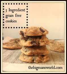 3-ingredient-grain-free-cookies