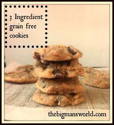 3-ingredient-grain-free-cookies