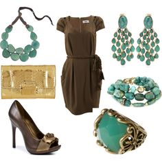 A fashion look from April 2012 featuring Bruuns Bazaar dresses, Carlos by Carlos Santana pumps and Michael Kors clutches. Browse and shop related looks.