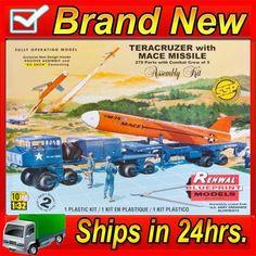 Revell 857812 1/32 Teracruzer w/Missile (Renwal) SSP Plastic Model Kit picclick.com