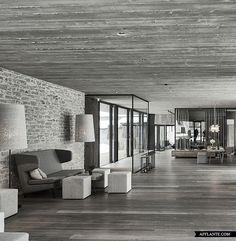 Hotel Wiesergut in Hinterglemm, Austria // Gogl Architekten | Afflante.com. Perfect space for a living room