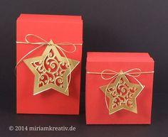Sternanhänger - star ornament (CAMEO)
