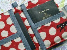 Make your own passport wallet