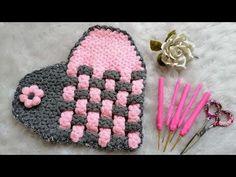 Baby Knitting Patterns, Knitting For Kids, Easy Knitting, Knitting Designs, Knitting Stitches, Crochet Video, Easy Crochet, Free Crochet, Rugs