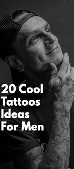 20 Cool Tattoo Ideas For Men Tatto For Men, Cool Tattoos For Guys, Latest Tattoos, Trendy Tattoos, Mens Style Guide, Men Style Tips, Latest Beard Styles, Mens Clothing Styles, Men's Clothing