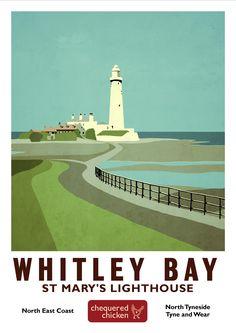 Whitley Bay print