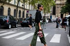 Best Street Style Paris Fashion Week SS17 Day Two - Image 7