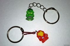 Squinkies Keychain Haha my sister would LOVE this