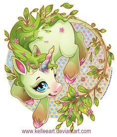 Earth Unicorn by KelleeArt on deviantART