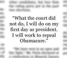 "- Republican presidential hopeful Mitt Romney in a speech shortly after the Supreme Court's ruling on health care. ""Supreme Court Upholds Mandate as Tax"", June 28, 2012: http://on.wsj.com/LGaa4K"