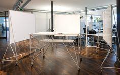 Modulare Büroeinrichtung, Möbelbausystem, VRmagic | System 180