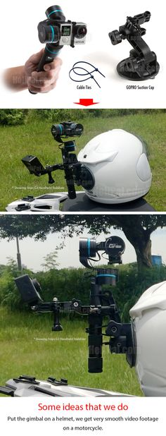 DIY and you can make it for your helmet http://www.helipal.com/feiyu-g4-handheld-stabilizer-for-gopro-hero-3-and-4-3-axis.html