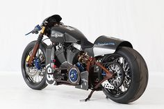 Shaw Harley-Davidson- Nascafe Racer  Its two-wheeled works of art. This modded motorcycle looks really awesome!!!!