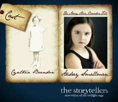 We are pleased to introduce Miss Audrey Smallman as Alice's little sister: Cynthia Brandon #TwilightStories @Twilight via @theMABFile