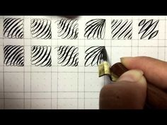 Fun Pointed Pen Calligraphy Drill Exercises - YouTube