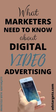 What marketers need to know about digital video advertising? Digital video advertising also known as online video advertising... Find more in this post! #digital #advertising #displayadvertising #onlinevideoadvertising