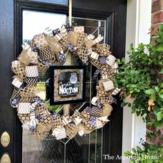 1 wreath styled 3 different ways for the Fall season is super easy! Burlap, ribbon and 30 minutes is all it takes to create this project.