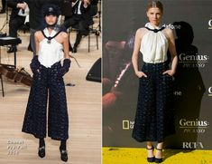 Clemence Poesy In Chanel – 'Genius Picasso' Malaga Premiere