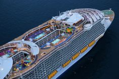 10 things you didn't know about the world's largest #cruise ship, Royal Caribbean's Harmony of the Seas.