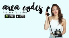 """I released new music this week with my rap-star boyfriend A-Fos! Check out my new single """"Area Codes,"""" available now on iTunes and Spotify! #blogistiana"""