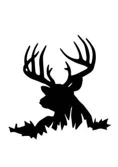 Deer Silhouette Hunting Decal Sticker Many Size Options Many Color Options Industry standard high performance calendared vinyl film Cut From Premium mil Vinyl Outdoor durability is 7 years Glossy surface finish Hirsch Silhouette, Buck Silhouette, Forest Silhouette, Reindeer Silhouette, Hunting Decal, Hunting Humor, Pheasant Hunting, Deer Hunting, Turkey Hunting