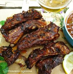 Bulgarian Recipes, Dessert Recipes, Desserts, Chicken Wings, Steak, Cooking Recipes, Dinner, Decoration, Food