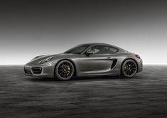 Porsche Agate Grey Cayman S