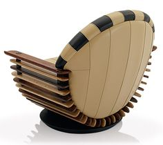 Art Deco-styled Luxor Arm Chair from Pacific Green MARAVILLOSO!!!!!!!!!!!