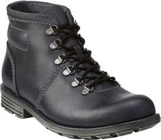 42dfc9c2dd83 Men s Clarks Darian Heath Boot - Black Leather with FREE Shipping    Exchanges. Comfort