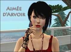Lowi♥Sims: ★Update★ Aimée d'Arvoir (special gift for French w. Bohemian Lifestyle, Sims 2, Special Gifts, The Twenties, Bikinis, Swimwear, French, Female, Casual