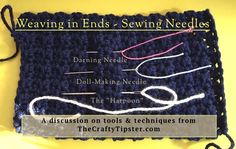 Weaving in Ends with