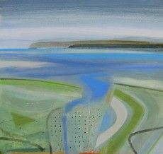 Fiona Millais exhibiting at The Jerram Gallery, Sherborne, Dorset. Contemporary British pictures and sculpture Pastel Landscape, Contemporary Landscape, Abstract Landscape, Paintings I Love, Seascape Paintings, Love Photos, Cornwall, Boats, Inspire