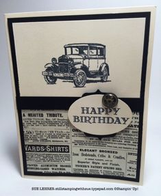 Httpsppvkc836736v836736715ac3cyblqecnagrsg cars card car classic cars birthday for men masucline card splitcoaststampers see more guy greetings stamp set from stampin bookmarktalkfo Image collections