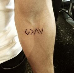 God is greater than the ups and downs | Tats | Pinterest