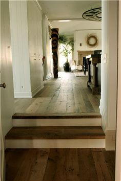 would love to have old barn wood floors