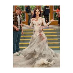 "Liz Gillies in her copy of the costume used in ""The Scissoring"" Victorious Nickelodeon, Icarly And Victorious, Jade Y Beck, Jade West Style, Jade West Victorious, Liz Gilles, Queen Liz, Liz And Liz, Victoria Justice"