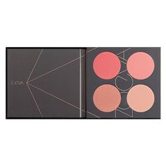 ZOEVA Coral Spectrum Blush Palette | cosmetics | Beauty Bay. These are my favorite color blushes ever