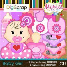 Baby Girl - $3.50 : DigiScrap Latino