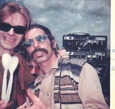 Phil Lesh, Mickey Hart, Jerry Garcia peeking Photo: unknown location, May This Photo was uploaded by Grateful Dead Members, Grateful Dead Image, Grateful Dead Music, Mickey Hart, Dead Pictures, Bob Weir, Dead And Company, The Jam Band, Forever Grateful