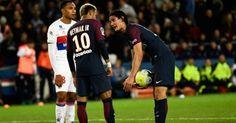 Cavani explains why he left penalty duties to Neymar