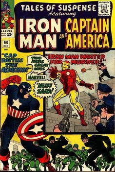 Tales of Suspense 60 silver age marvel comics group