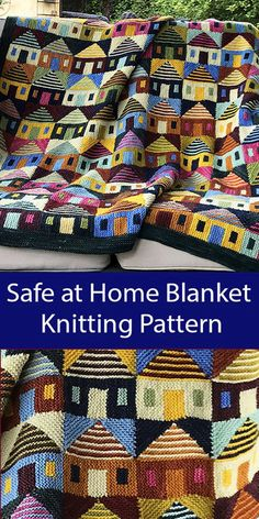Safe at Home Blanket - Knitting Pattern