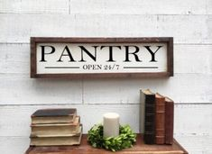 Excited to share this item from my shop: Mercantile and trading co sign, framed wood sign Shiplap Wood, Pantry Sign, Lake House Signs, Bathroom Rules, Wood Wedding Signs, Rustic Chair, Handmade Market, Vintage Kitchen Decor, Kitchen Signs