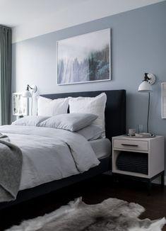 13 Cool Gray Bedroom Ideas To Your Bedroom Graybedroom Monochromatic Bedroom Gray Repose Gray Bedroom P Light Blue Bedroom Blue Gray Bedroom Bedroom Design