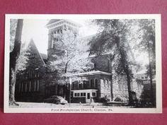 Presbyterian Church ca. 1940s, Clarion, PA  EFTforChristians.com