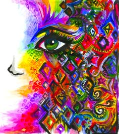 Colorful painting