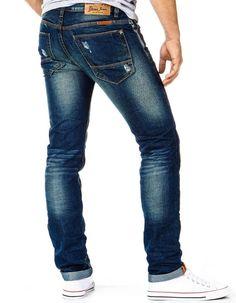 Zapinane na zamek,  męskie spodnie jeansowe:  http://dstreet.pl/product-pol-3884-Spodnie-ux0091-.html  #spodnie #dstreet #jeansy