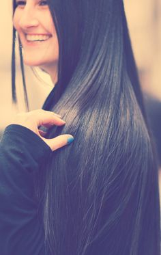 #Long Black #Hair