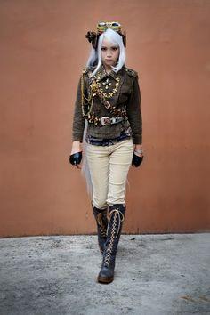 Steampunk Tendencies - Google+ - Steam & Gears #Fashion #Steampunk #Steampunkgirl