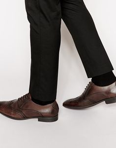 Base London Governor Leather Oxford Shoes
